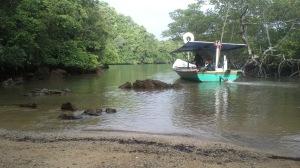 Perahu yang kami tumpangi